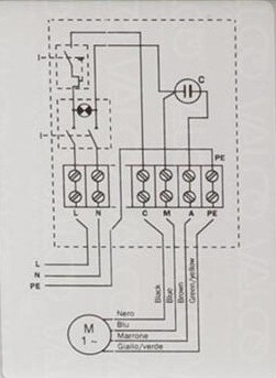 single phase motors archives - electrical and electronics ... a single phase delta motor wiring #9