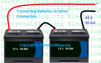 connecting batteries in series
