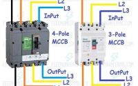 mcb wiring diagram